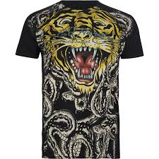 ed hardy tiger t shirts