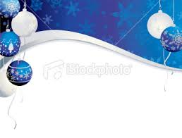 blue and silver christmas