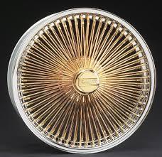 gold spoke rims