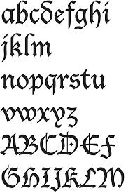 black letter fonts