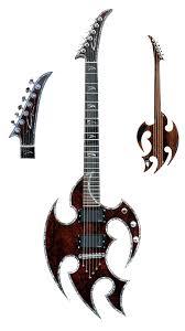 goth guitars