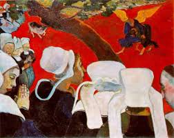 paul gauguin vision after the sermon