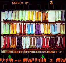 botas vaquera