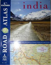road atlas of india