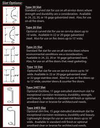 steel slats
