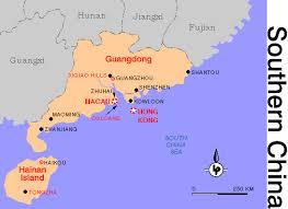 hainan island china map