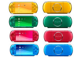 all psp colors