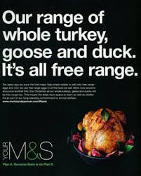 marks and spencers food adverts