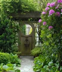 pictures of garden gates