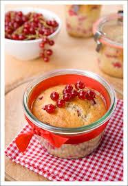 red glass jars