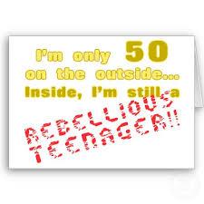 funny 50th birthday cards