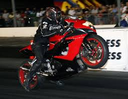 drag race motorcycles