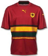 angola football shirt