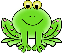 frog clip art pictures