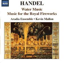 handel water music music for the royal fireworks