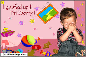 sorry greeting cards