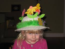 decorate easter bonnet