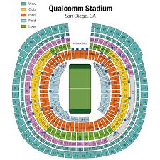 qualcomm stadium seats