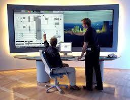 big screen computer monitor