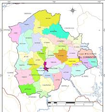 mapa division politica