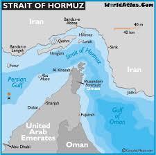 hormuz strait map