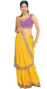 sari choli