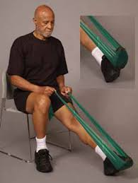 theraband ankle exercises