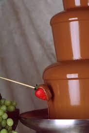 belgian chocolate fountains