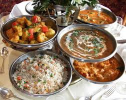 indian take out food