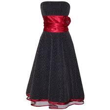 black red prom dresses