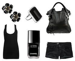 clothes black