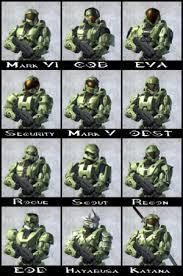all halo armor