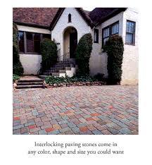 interlocking paving stone