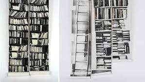 book shelf wallpaper