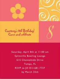 homemade birthday party invitations