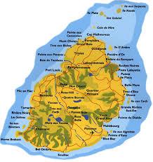 map of mauritius