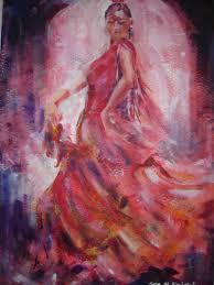 flamenco dancer paintings