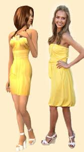 cute yellow dress