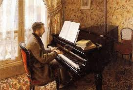 pianist painting