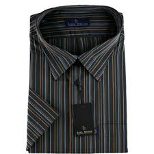 black striped shirts