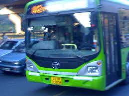low floor bus