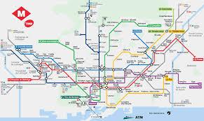 metro stations barcelona