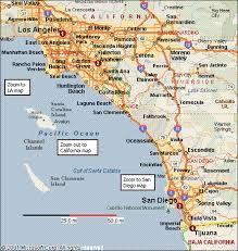 map of cal