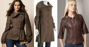 brown trench coats