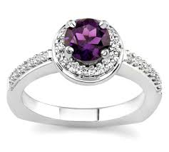 engagement rings with colored stones