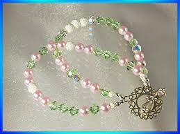 crystal beaded bracelets