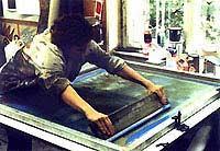silkscreen printmaking