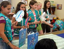 junior girl scouts