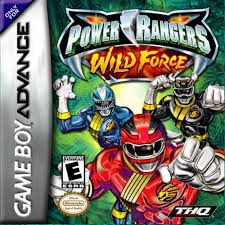 power ranger wild force game