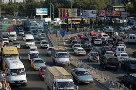 800px kyiv traffic jam Peta Mudik Lebaran 2009 Terlengkap
